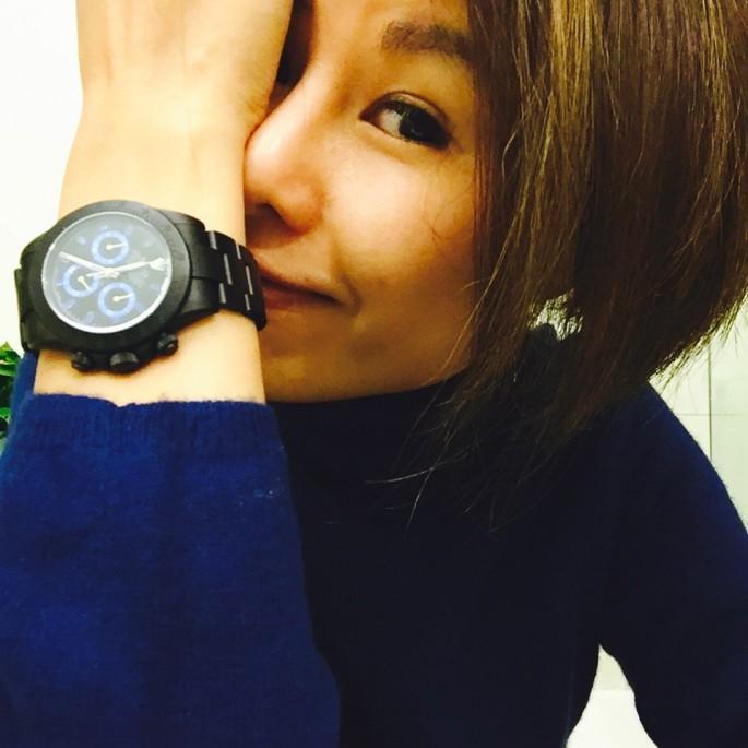 我的新年禮物!寓意時計自己設計;時機自己創造;時間自己把握!